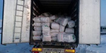 16 ton gümrük kaçağı çay ele geçirildi