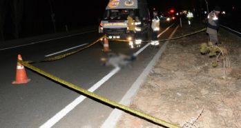 Otomobilin çarptığı İran uyruklu şahıs öldü