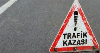 Trafik kazası : 12 yaralı