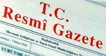 Resmi Gazete'de yayımlanan atama kararları