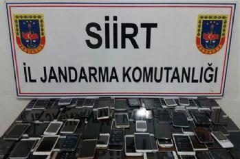 117 adet kaçak telefon ele geçirildi
