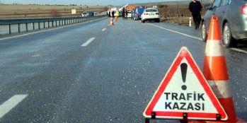 Trafik kazası: 6 kişi yaralandı