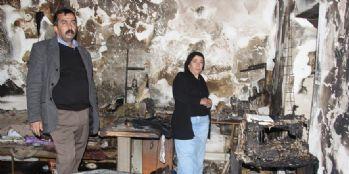 Çıkan yangın, engelli kardeşlerin eviyle birlikte umutlarını da yok etti