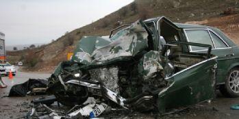Feci trafik kazası: 1 ölü, 6 yaralı