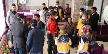 Van'da göçmenlere sağlık taraması