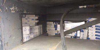 26 bin paket kaçak sigara ele geçirildi