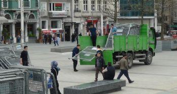Taksim'de 1 Mayıs önlemleri