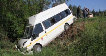 Korkunç kaza, 13 yaralı!