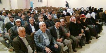 Erciş'te hacı adayları aşı oldu
