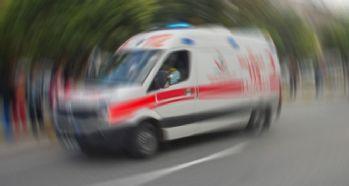 Yolcu otobüsü devrildi : 1 ölü