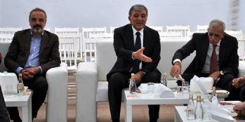 Sırrı Sakık ve Ahmet Türk'ten Abdullah Gül'e Taziye Ziyareti