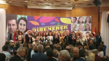 HDP'de seçim bitti: Kemalbay yeni eşbaşkan