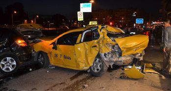 Trafik kazası:2 ağır yaralı