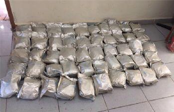 Van'da 54 kilo 529 gram eroin ele geçirildi