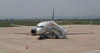 Yolcu uçağına leylek çarptı