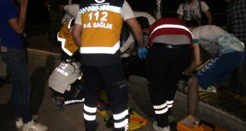 Magandalar biri kadın, 3 kişiyi vurdu