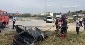 LPG'li otomobil patladı, 4 ölü