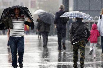 Meteoroloji'den 'sağanak yağış' uyarısı