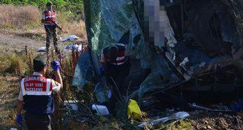 Otobüs kazası: 1 ölü 40'tan fazla yaralı