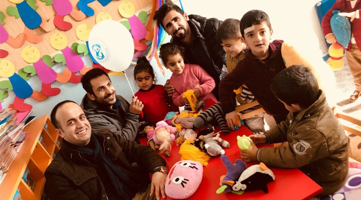 Yüksekova Gençlik Merkezinden köy okullarına ziyaret