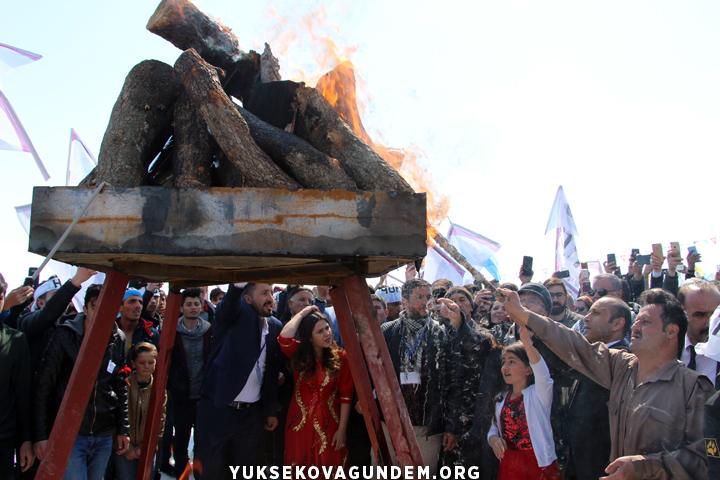 Yüksekova'da Newroz kutlaması (2019)