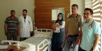 Dört aylık bebek için doktorlar seferber oldu