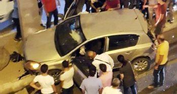 Kamyon trafikteki araçların arasına daldı: Yaralılar var