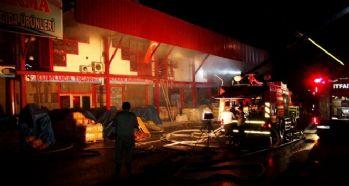 Gaziantep'te milyon liralık yangın