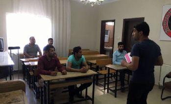 Engelliler için KPSS kursu açıldı