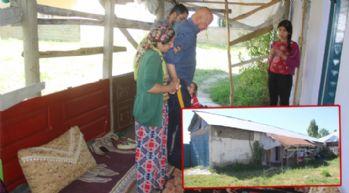 Yüksekova: Ağır hasta Tekçi, ailesiyle beraber garajda yaşıyor