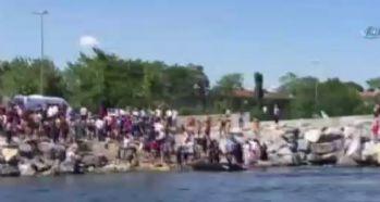 Denize giren 12 yaşındaki kız boğuldu