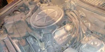 Van'da seyir halindeki otomobil yandı