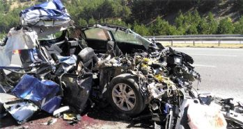 Feci kaza meydana geldi: 5 ölü