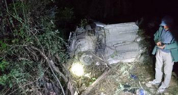 Otomobil şarampole devrildi: 4 ölü, 2 yaralı