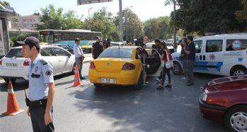 Taksi ve minibüsler denetlendi