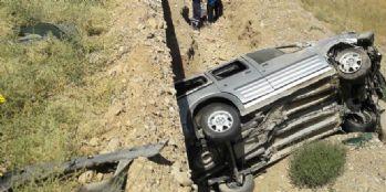 Van'da feci kaza: 1 ölü, 4 yaralı