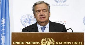 BM Genel Sekreteri Guterres'den referandum açıklaması