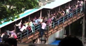 Tren istasyonunda izdiham: 15 ölü