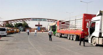 Kilis'te bulunan Öncüpınar Sınır Kapısı kapatıldı
