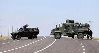 Zırhlı araç devrildi; 8 asker yaralandı