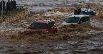 Yağışlar hayatı olumsuz etkiledi