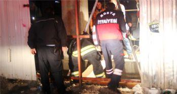18 metrelik çukura düşen işçi kurtarıldı