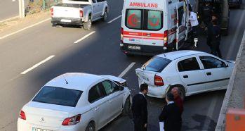 Diyarbakır'da trafik kazası: 4 yaralı!