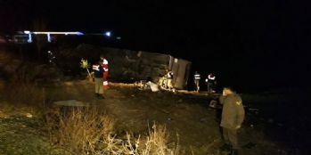 Otobüs kazası: 10 yaralı