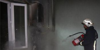 Van'da çıkan yangın korkuttu