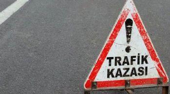 Diyarbakır'da trafik kazası: 1 ölü, 9 yaralı