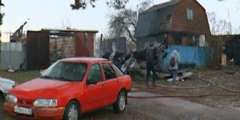 Tek katlı evde yangın: 7 ölü