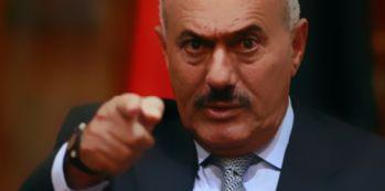 Eski devlet başkanı Salih öldürüldü