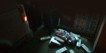 12 bin paket kaçak sigara ele geçirildi