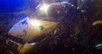 Taksi takla attı: 1 ölü, 2 yaralı